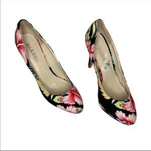 Bakers Sidnie Floral Platform Size 10